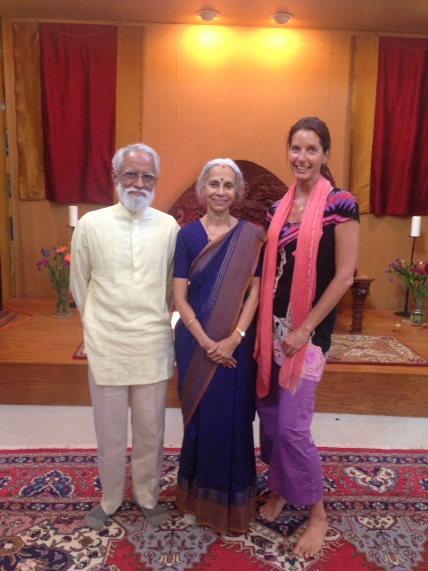 With A.G.Mohan and Indra, 2014, Berkley