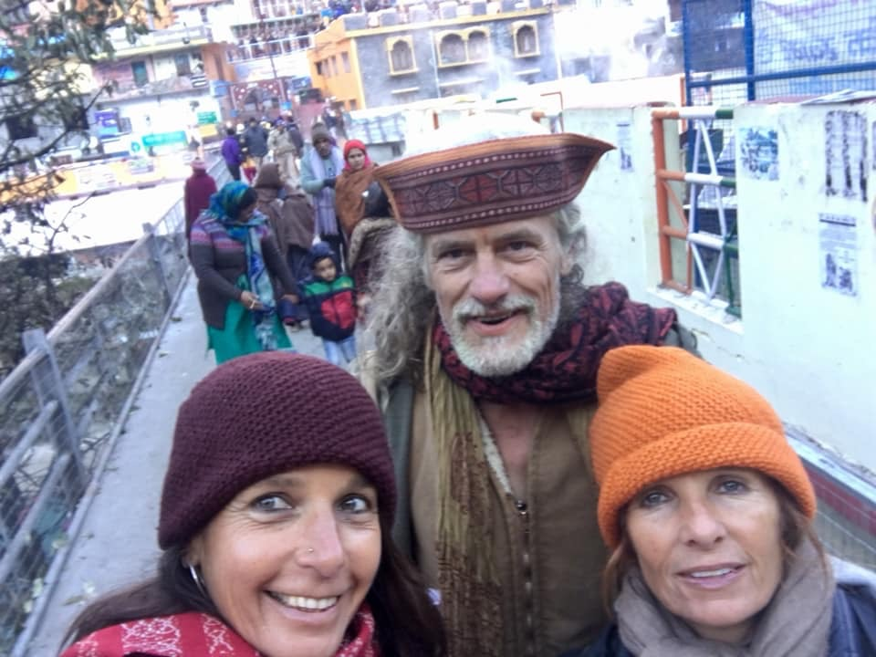 In Badrinath with Prashanti de Jager, Navratri Immersion 2018